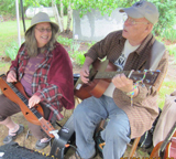 Image of FiddlinBill with Sandy Lafluer.